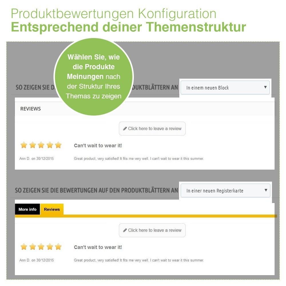 module - Kundenbewertungen - Store und Produkt Bewertungen + Google Rich Snippets - 17