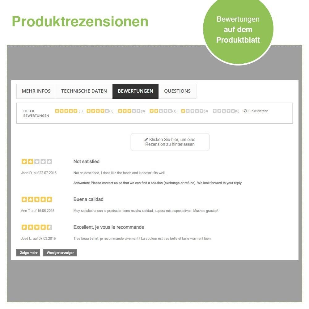 module - Kundenbewertungen - Store und Produkt Bewertungen + Google Rich Snippets - 20