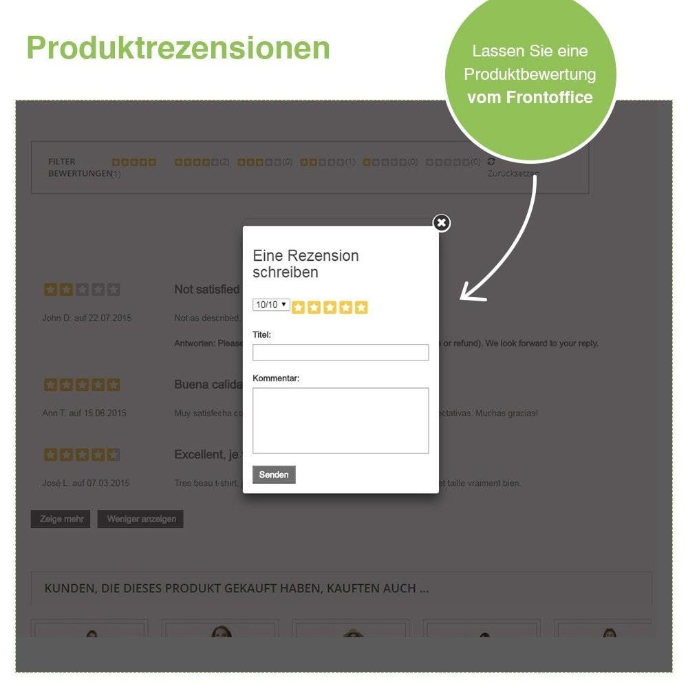 module - Kundenbewertungen - Store und Produkt Bewertungen + Google Rich Snippets - 21