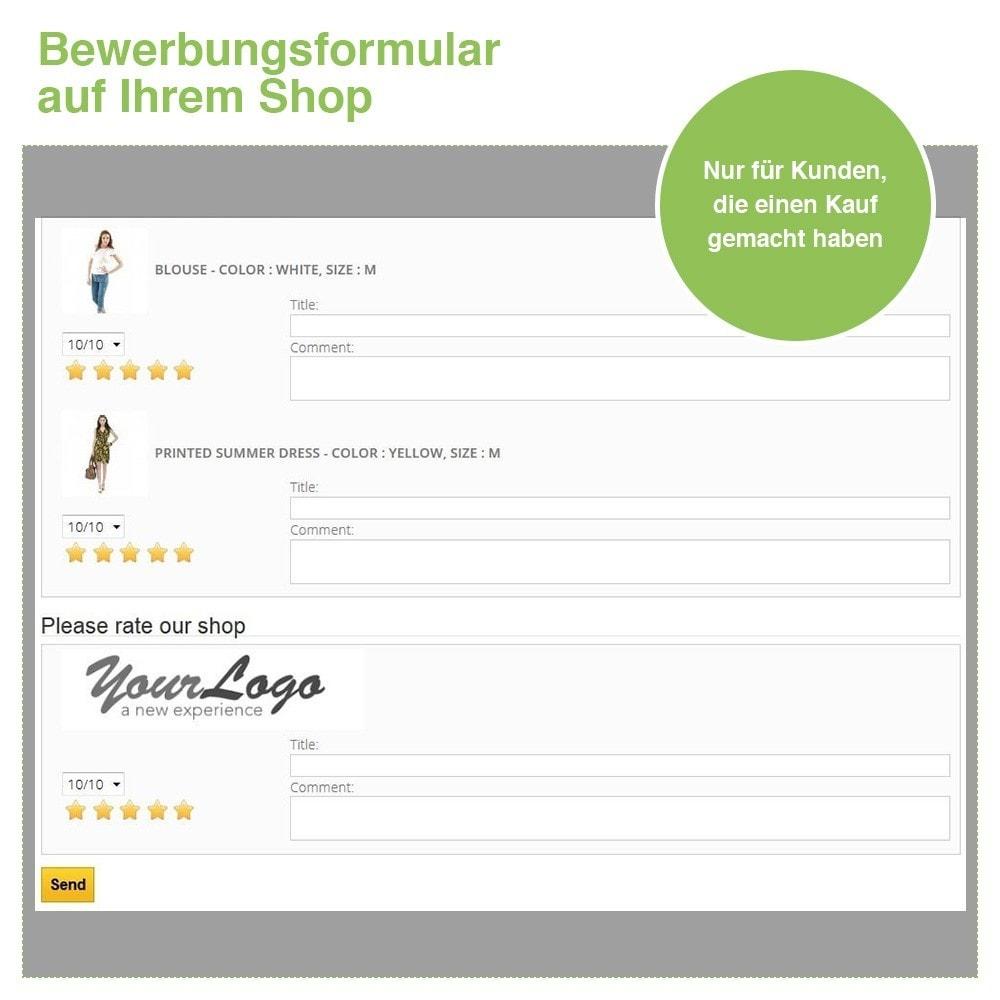 module - Kundenbewertungen - Store und Produkt Bewertungen + Google Rich Snippets - 29