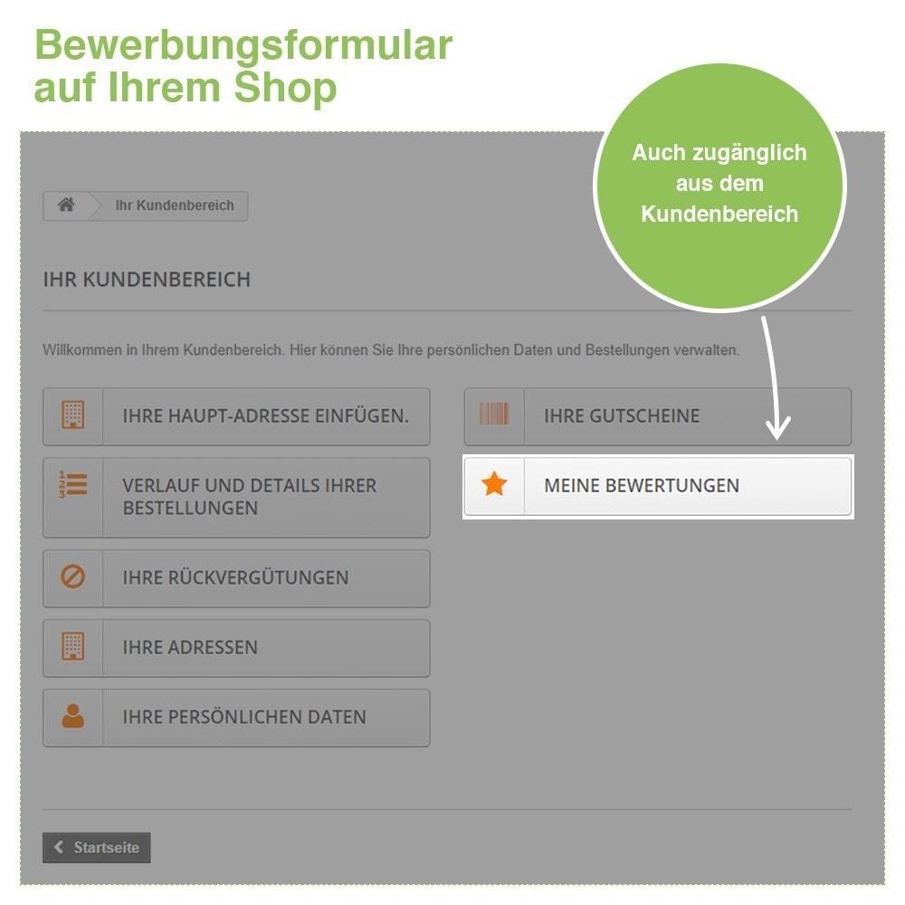 module - Kundenbewertungen - Store und Produkt Bewertungen + Google Rich Snippets - 30
