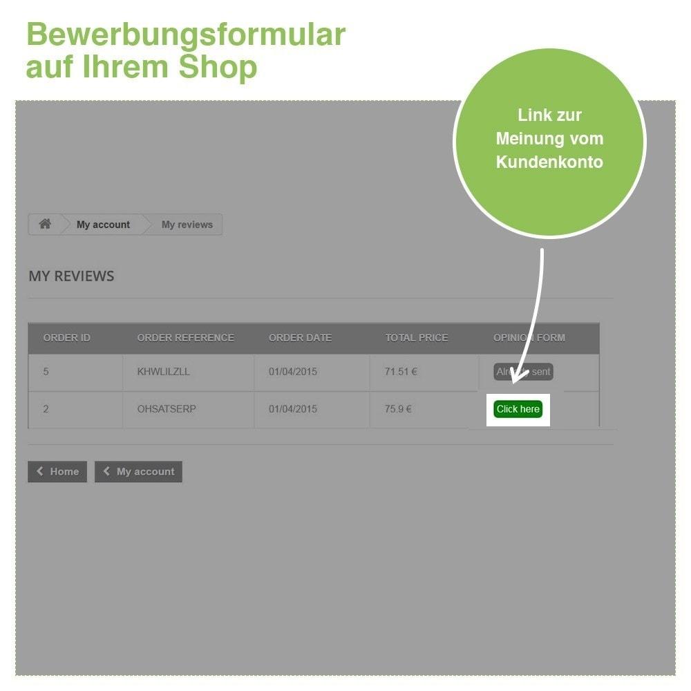 module - Kundenbewertungen - Store und Produkt Bewertungen + Google Rich Snippets - 31