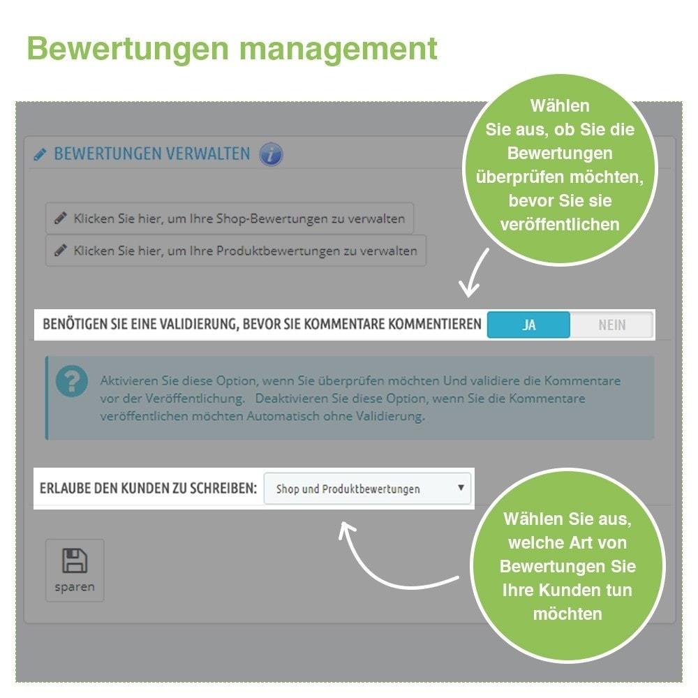 module - Kundenbewertungen - Store und Produkt Bewertungen + Google Rich Snippets - 34