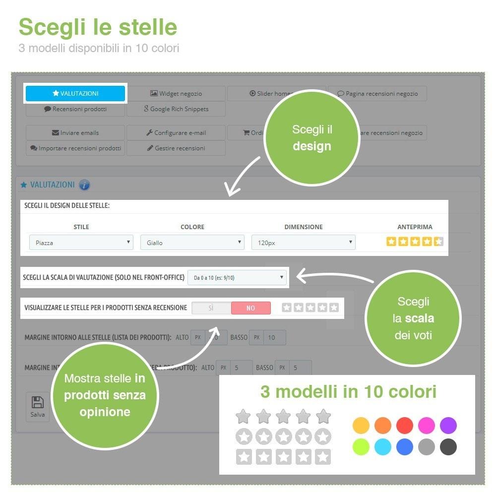 module - Recensioni clienti - Recensioni Negozio + Recensioni Prodotti + Snippets - 3