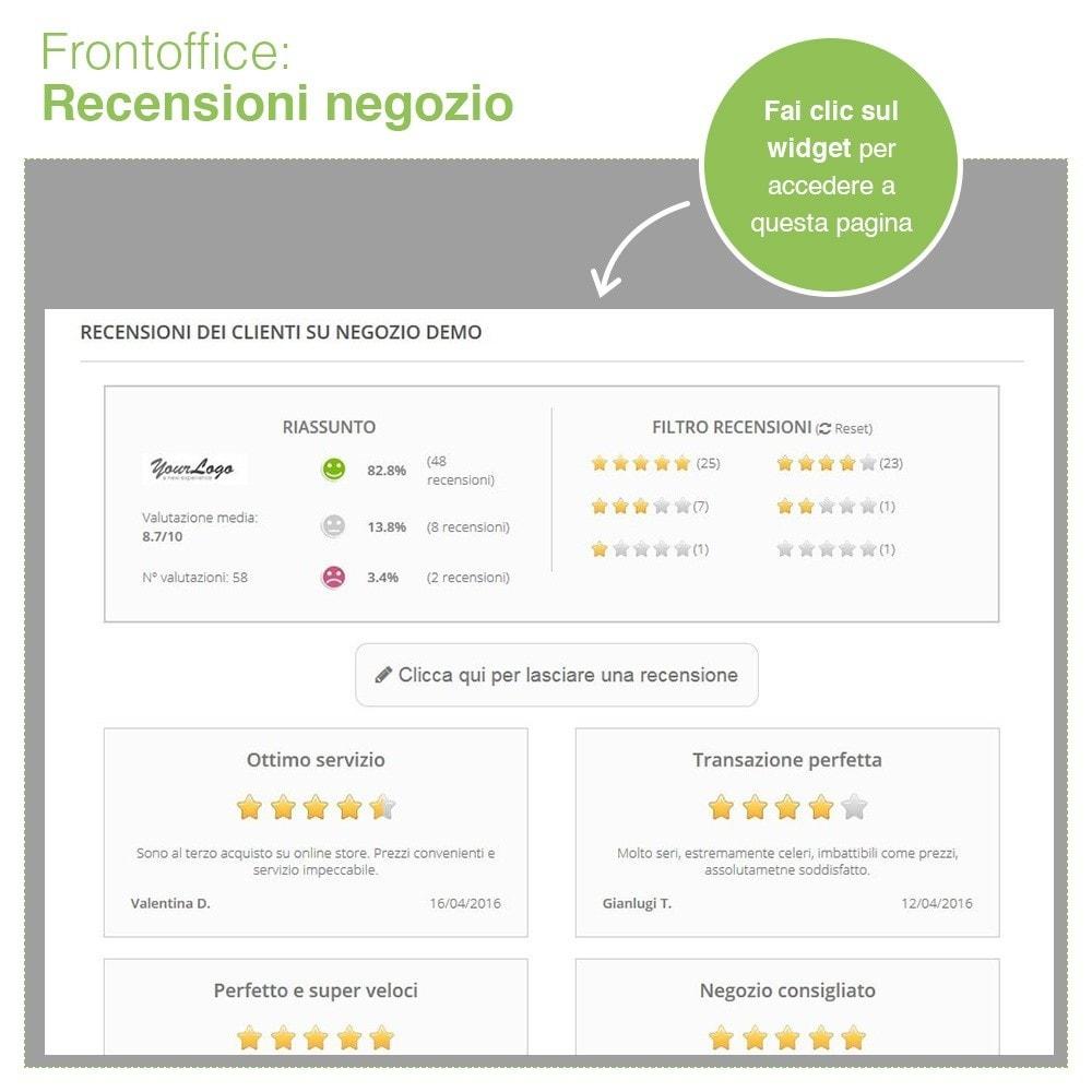 module - Recensioni clienti - Recensioni Negozio + Recensioni Prodotti + Snippets - 9