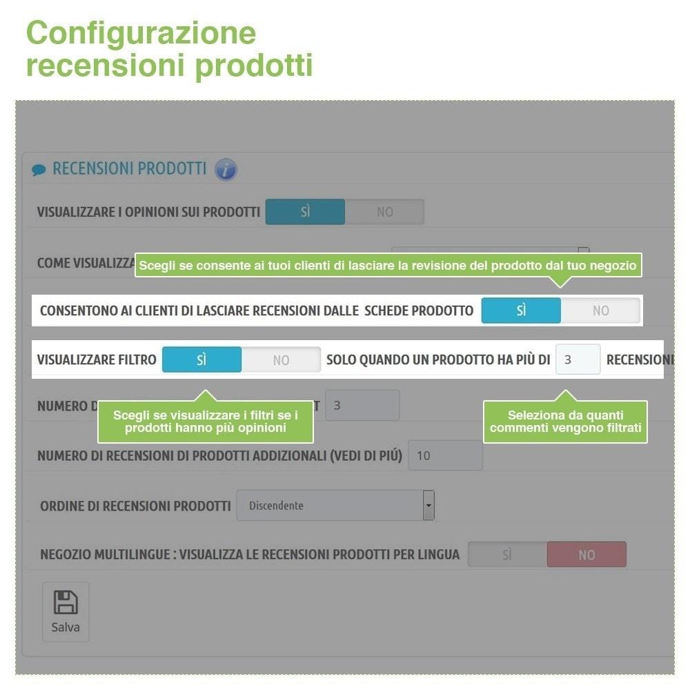 module - Recensioni clienti - Recensioni Negozio + Recensioni Prodotti + Snippets - 14