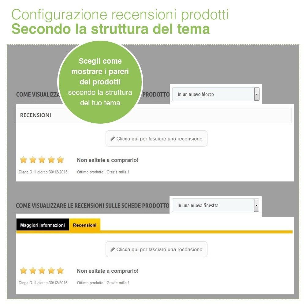 module - Recensioni clienti - Recensioni Negozio + Recensioni Prodotti + Snippets - 17