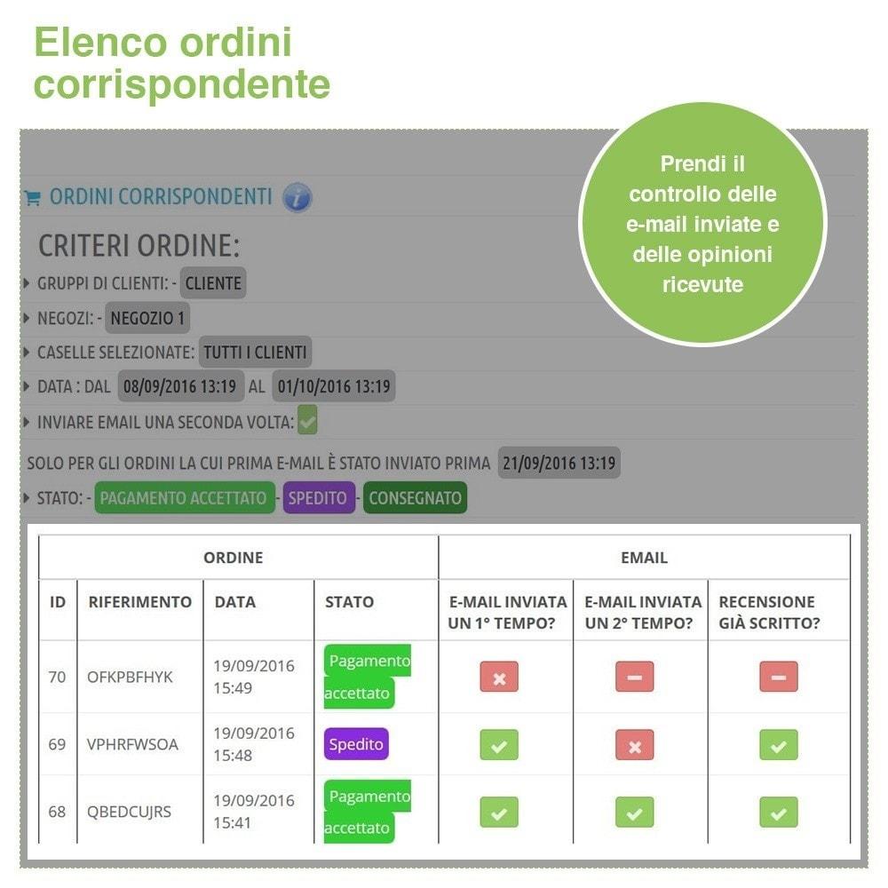 module - Recensioni clienti - Recensioni Negozio + Recensioni Prodotti + Snippets - 25