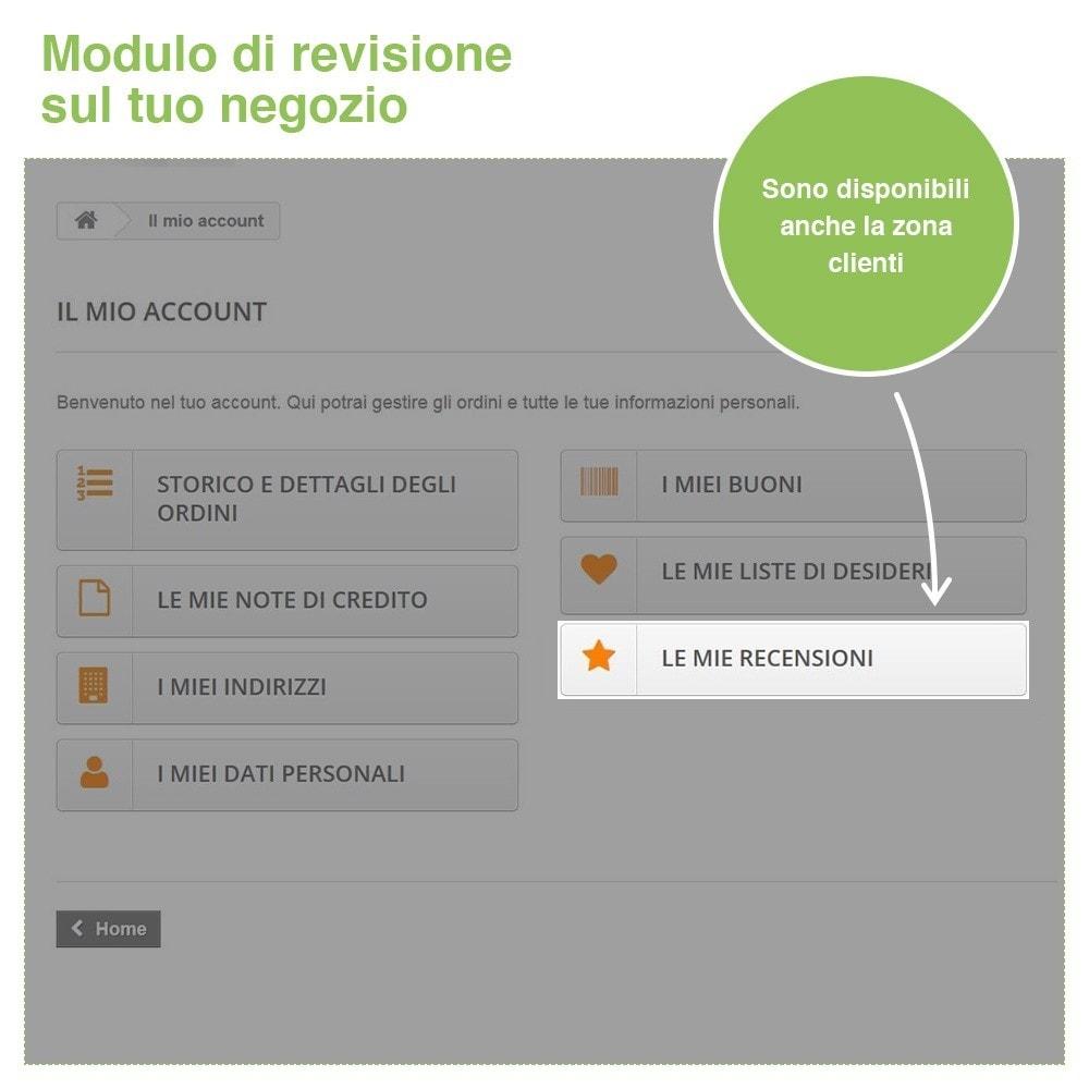 module - Recensioni clienti - Recensioni Negozio + Recensioni Prodotti + Snippets - 30