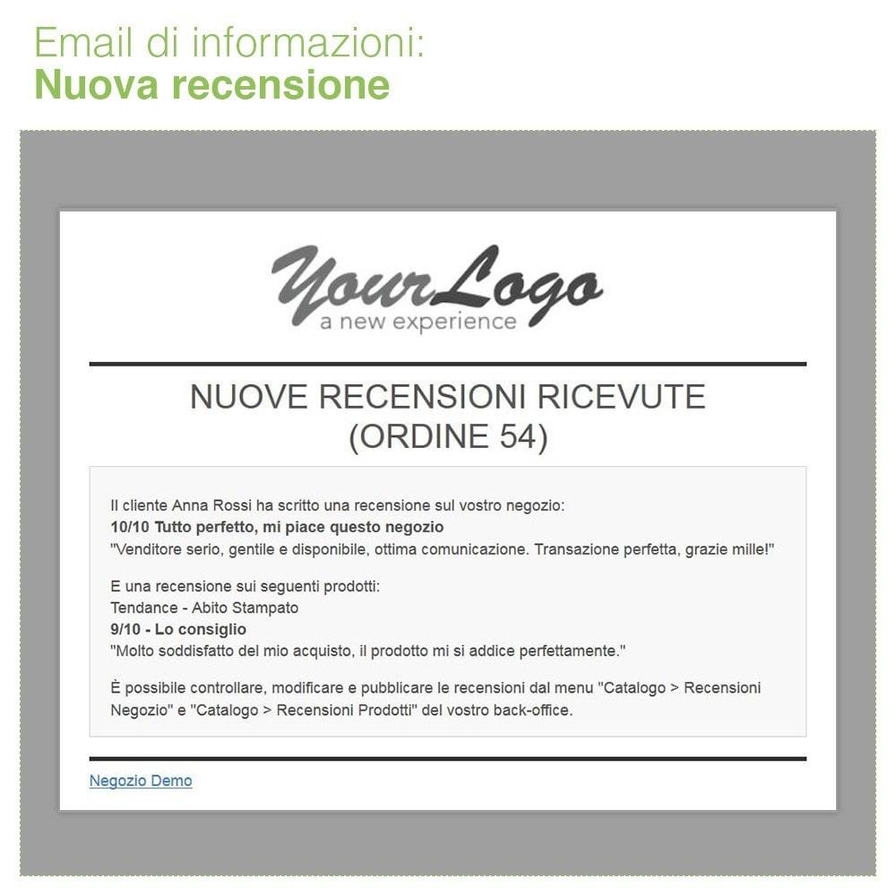 module - Recensioni clienti - Recensioni Negozio + Recensioni Prodotti + Snippets - 33