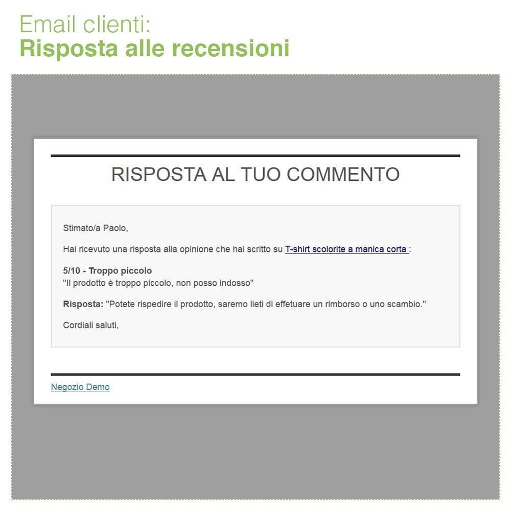 module - Recensioni clienti - Recensioni Negozio + Recensioni Prodotti + Snippets - 38
