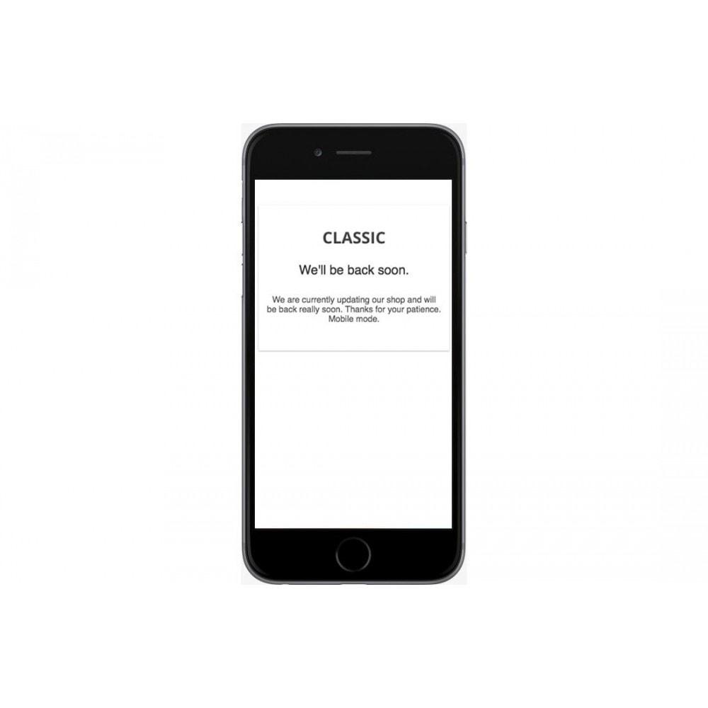module - Page Customization - Extended Maintenance mode - 2
