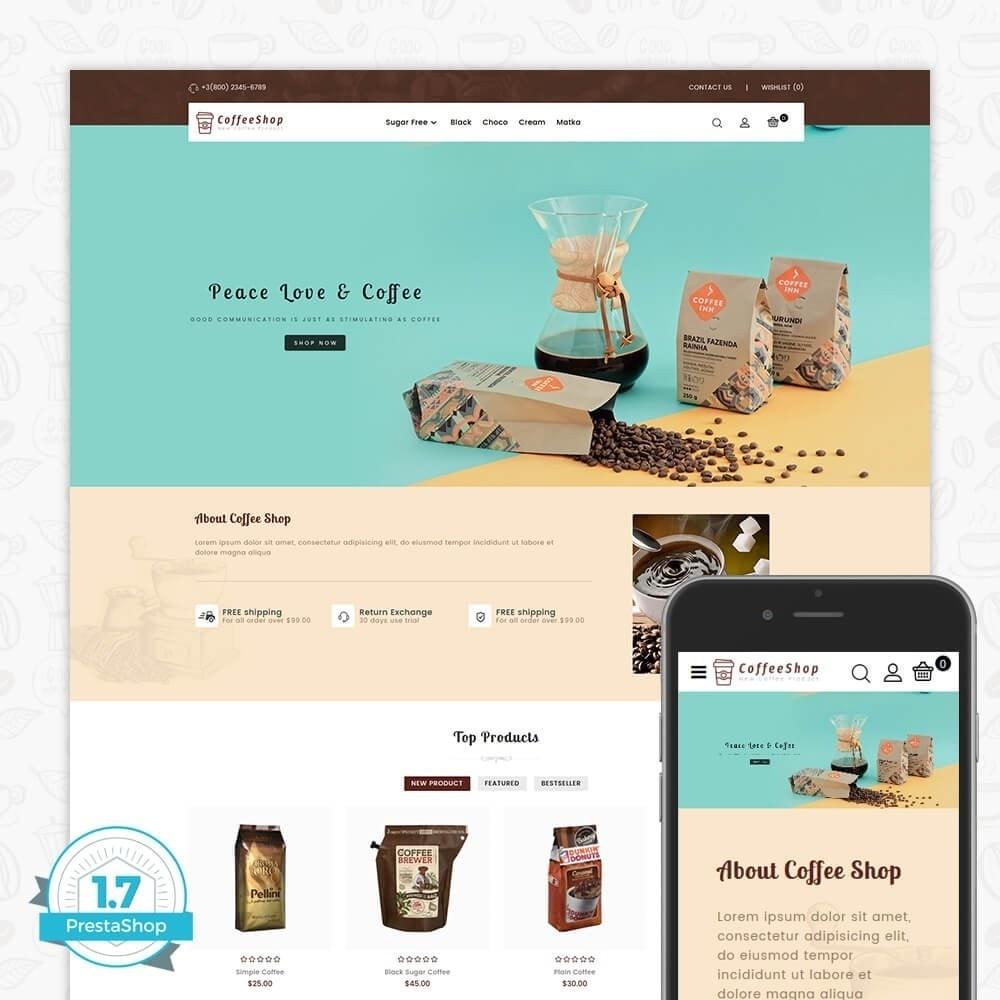 theme - Napoje & Wyroby tytoniowe - Coffee Shop - 1