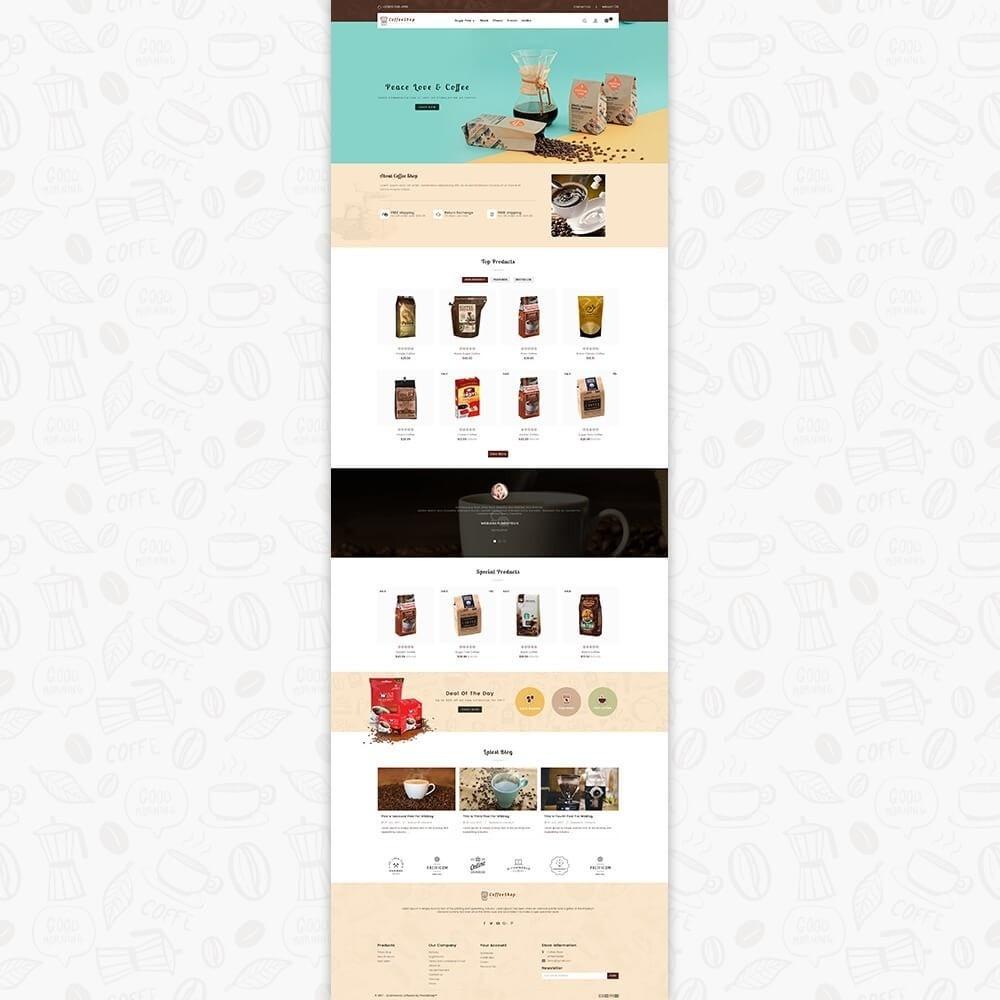 theme - Napoje & Wyroby tytoniowe - Coffee Shop - 2