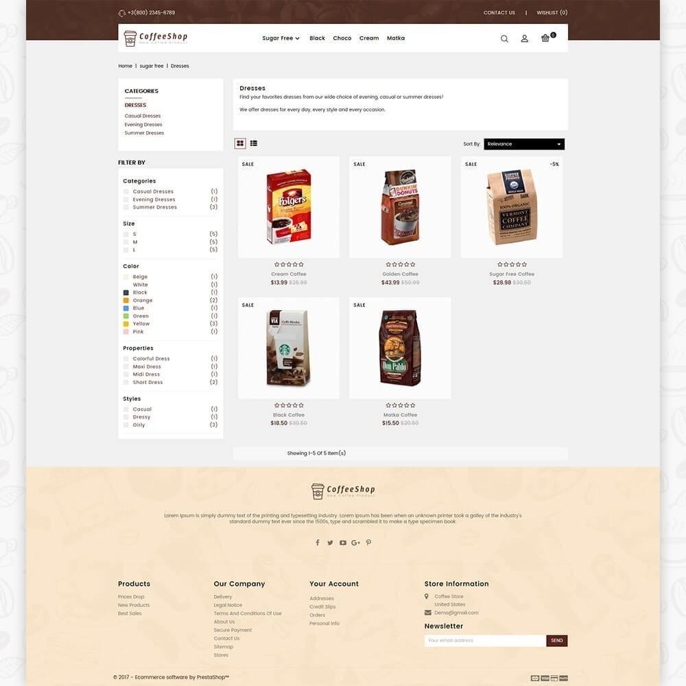 theme - Napoje & Wyroby tytoniowe - Coffee Shop - 3