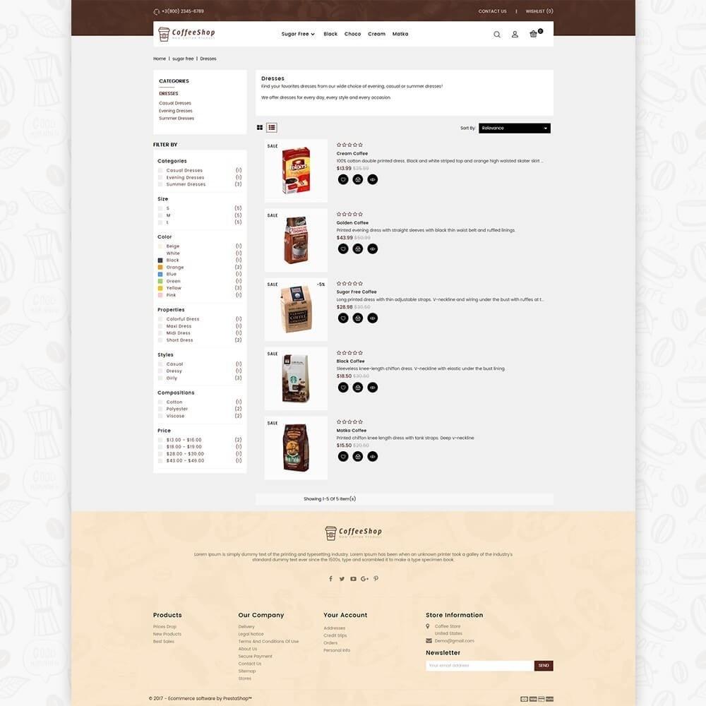 theme - Drink & Wine - Coffee Shop - 4
