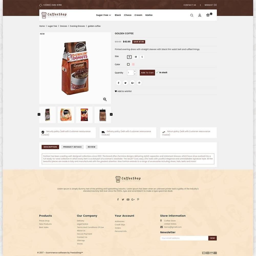 theme - Napoje & Wyroby tytoniowe - Coffee Shop - 5