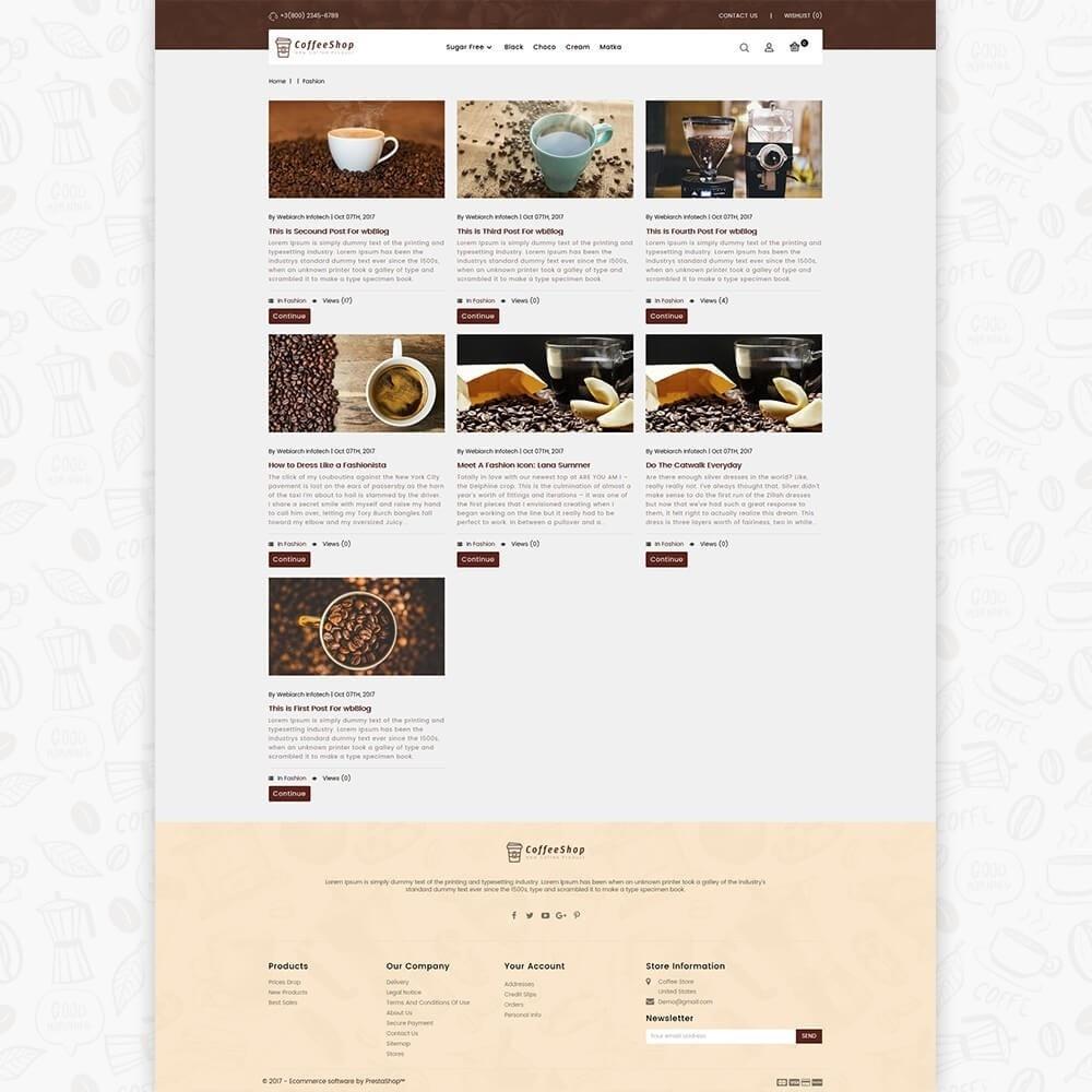 theme - Napoje & Wyroby tytoniowe - Coffee Shop - 6