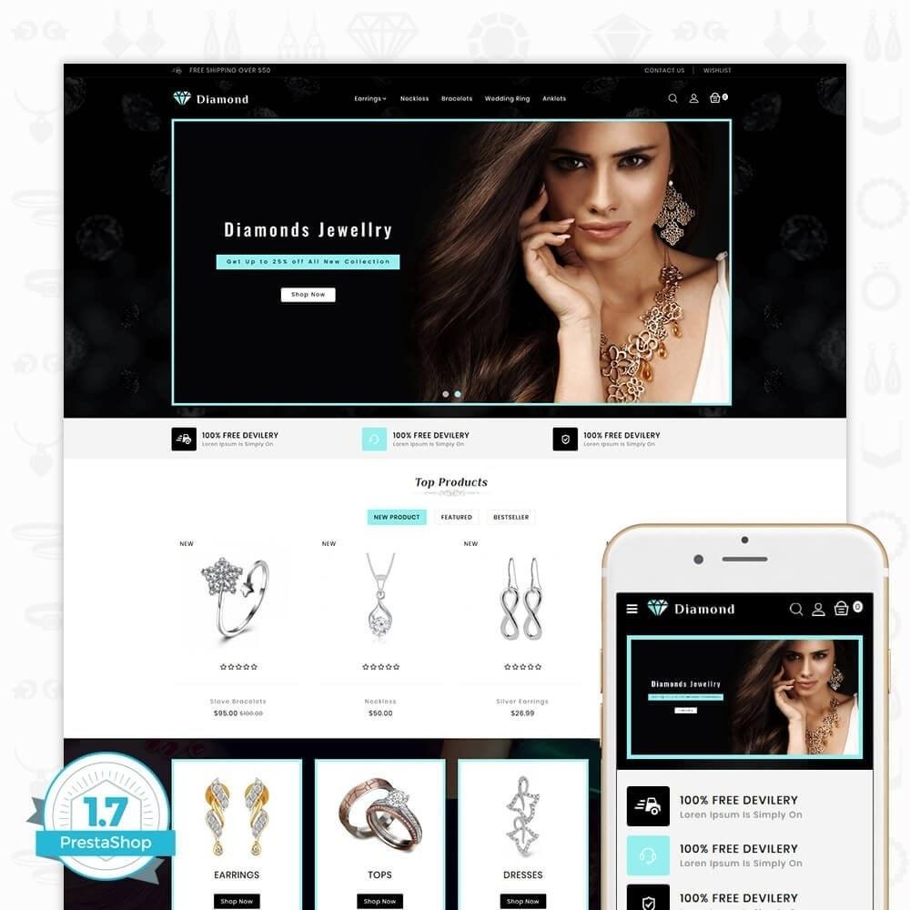 theme - Здоровье и красота - Diamond Jewellery Shop - 1