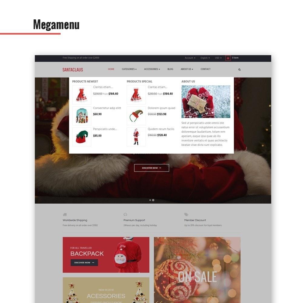 theme - Moda y Calzado - Leo Santa Claus - 3