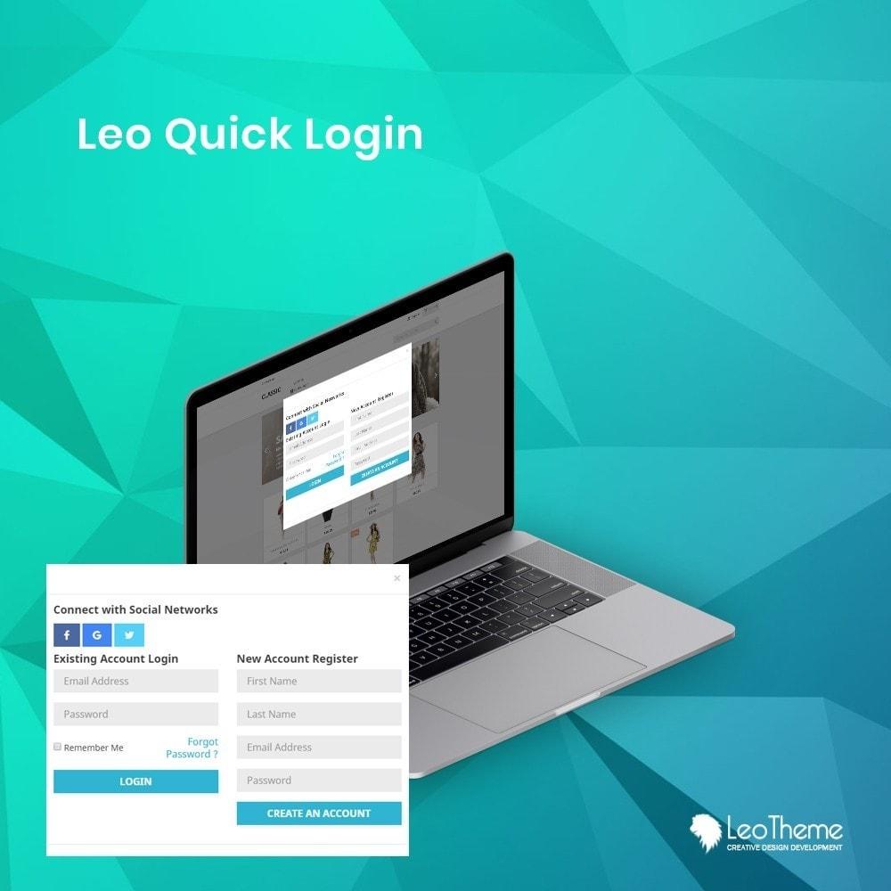 module - Seguridad y Accesos - Leo Quicklogin - 1