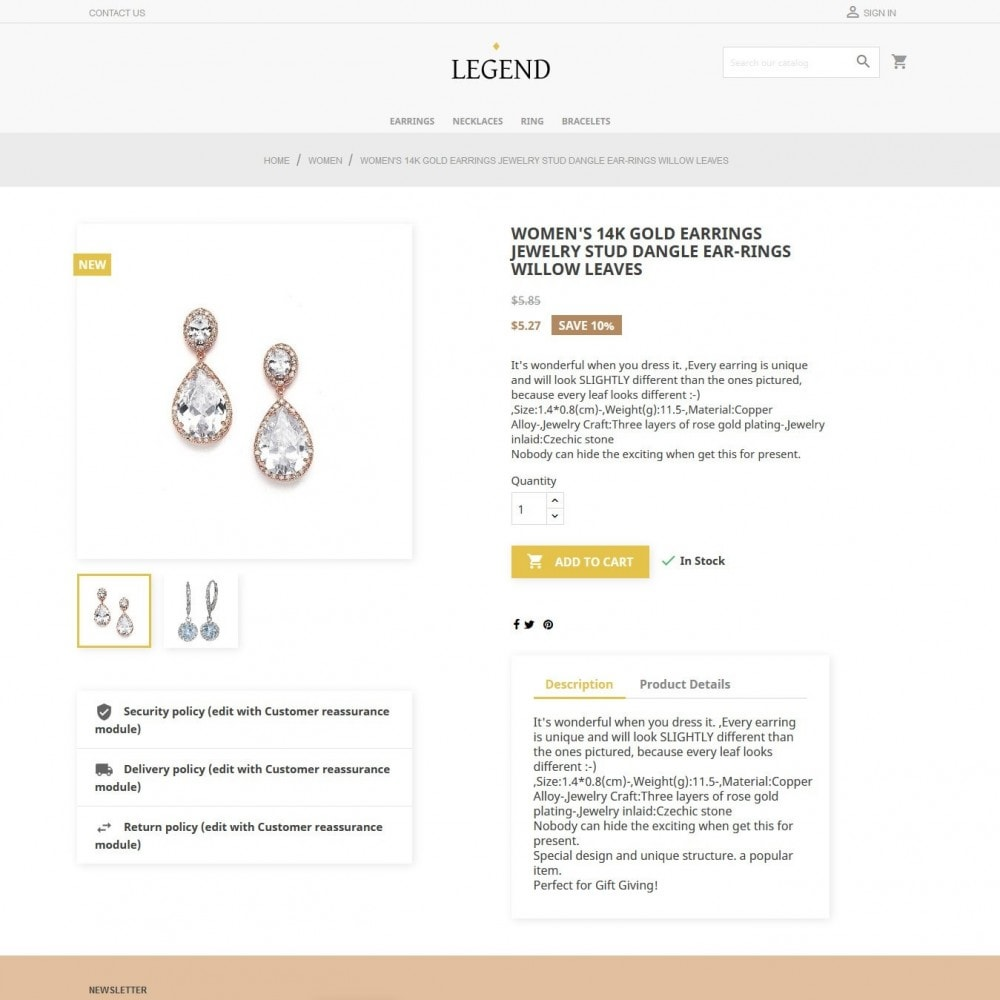 theme - Sieraden & Accessoires - Legend - 4