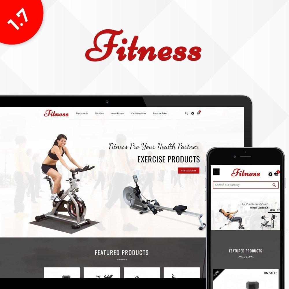theme - Salud y Belleza - Fitness Store - 1