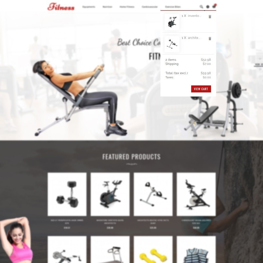 theme - Health & Beauty - Fitness Store - 6