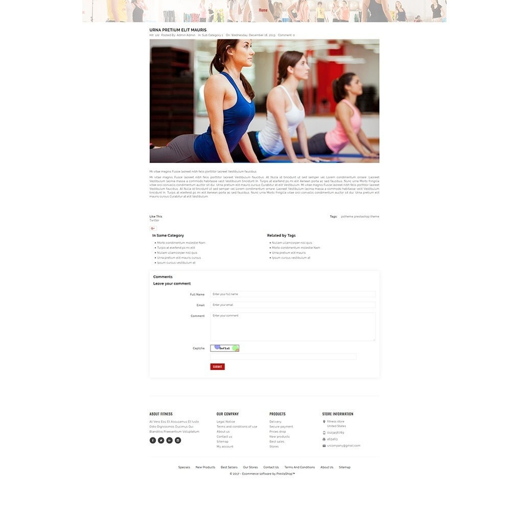 theme - Health & Beauty - Fitness Store - 8