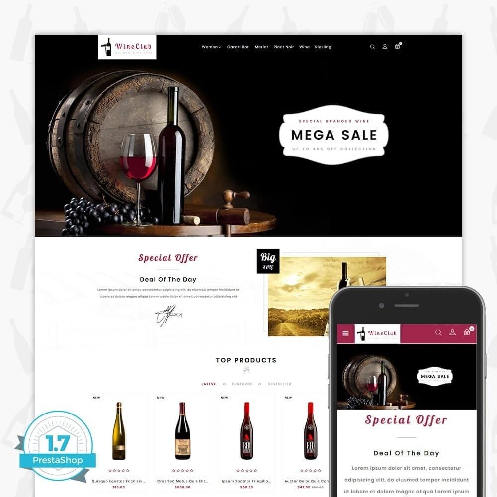 theme - Boissons & Tabac - Wine Club Store - 1