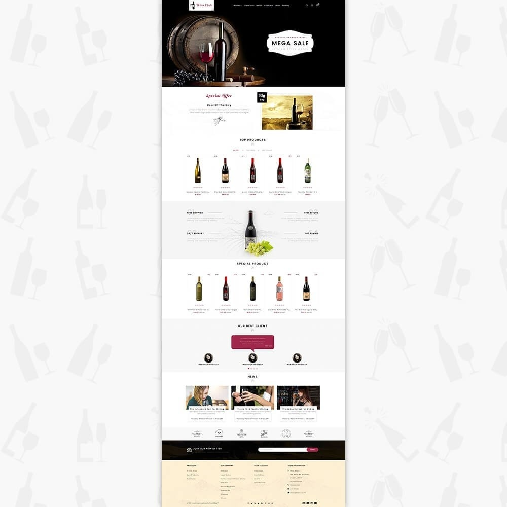 theme - Boissons & Tabac - Wine Club Store - 2