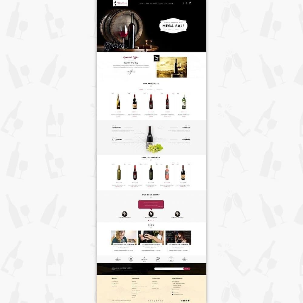 theme - Drink & Wine - Wine Club Store - 2