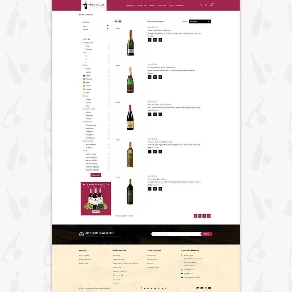 theme - Boissons & Tabac - Wine Club Store - 4