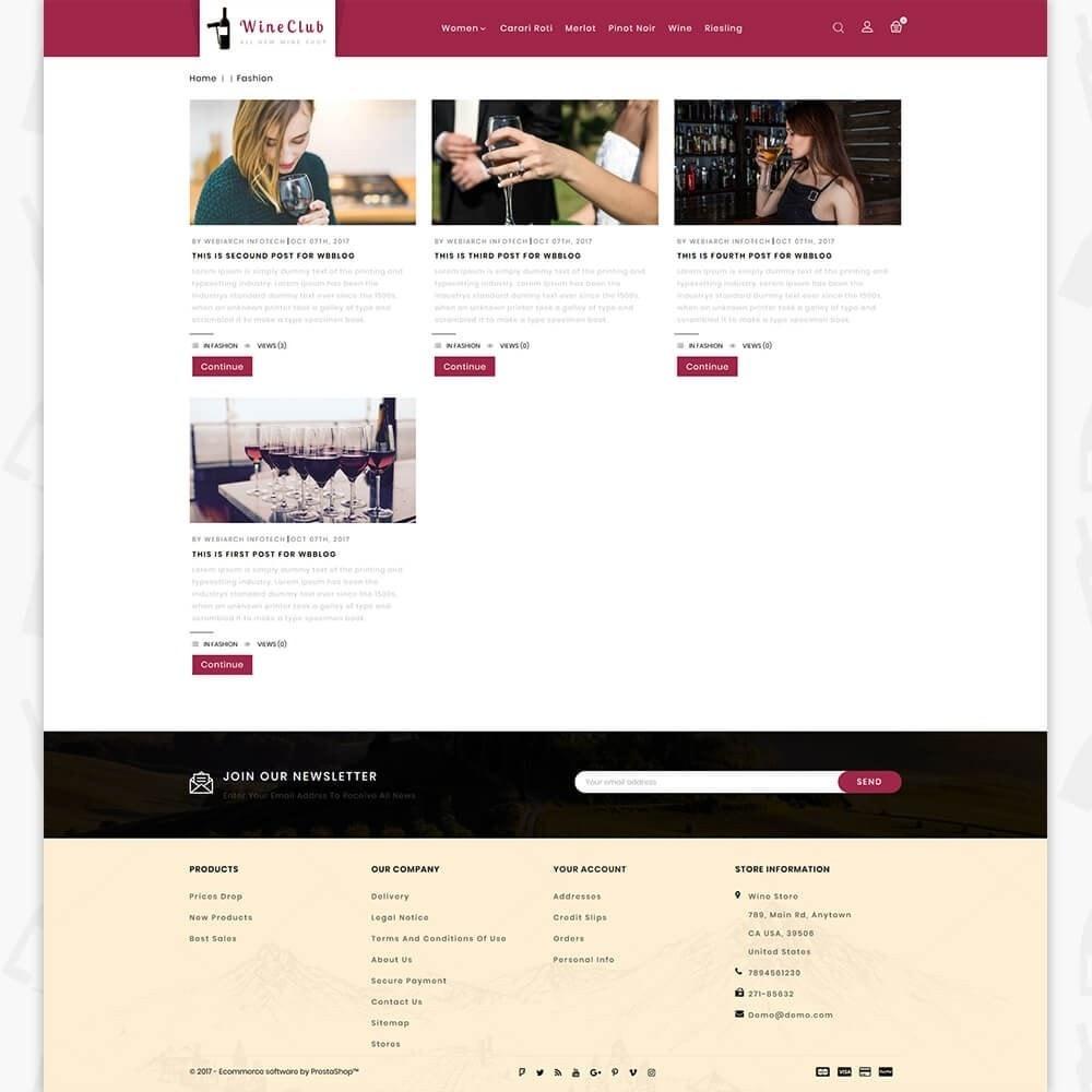 theme - Boissons & Tabac - Wine Club Store - 6
