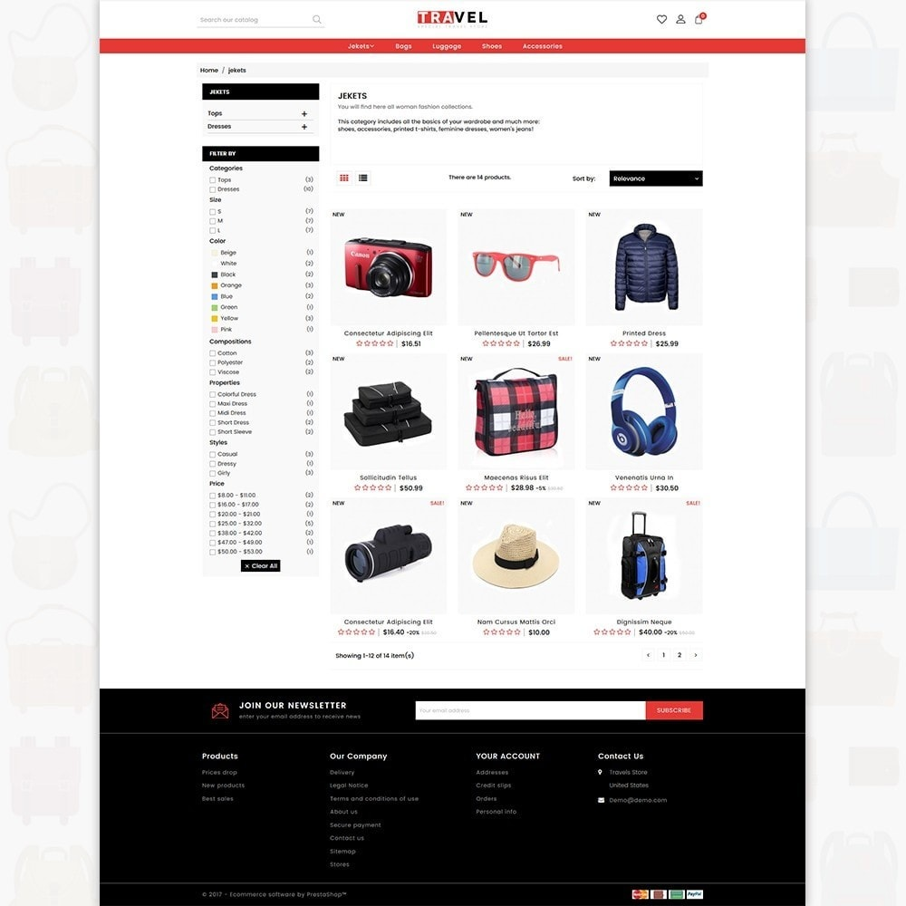 theme - Sport, Aktivitäten & Reise - Travel - The Special Travel Store - 3
