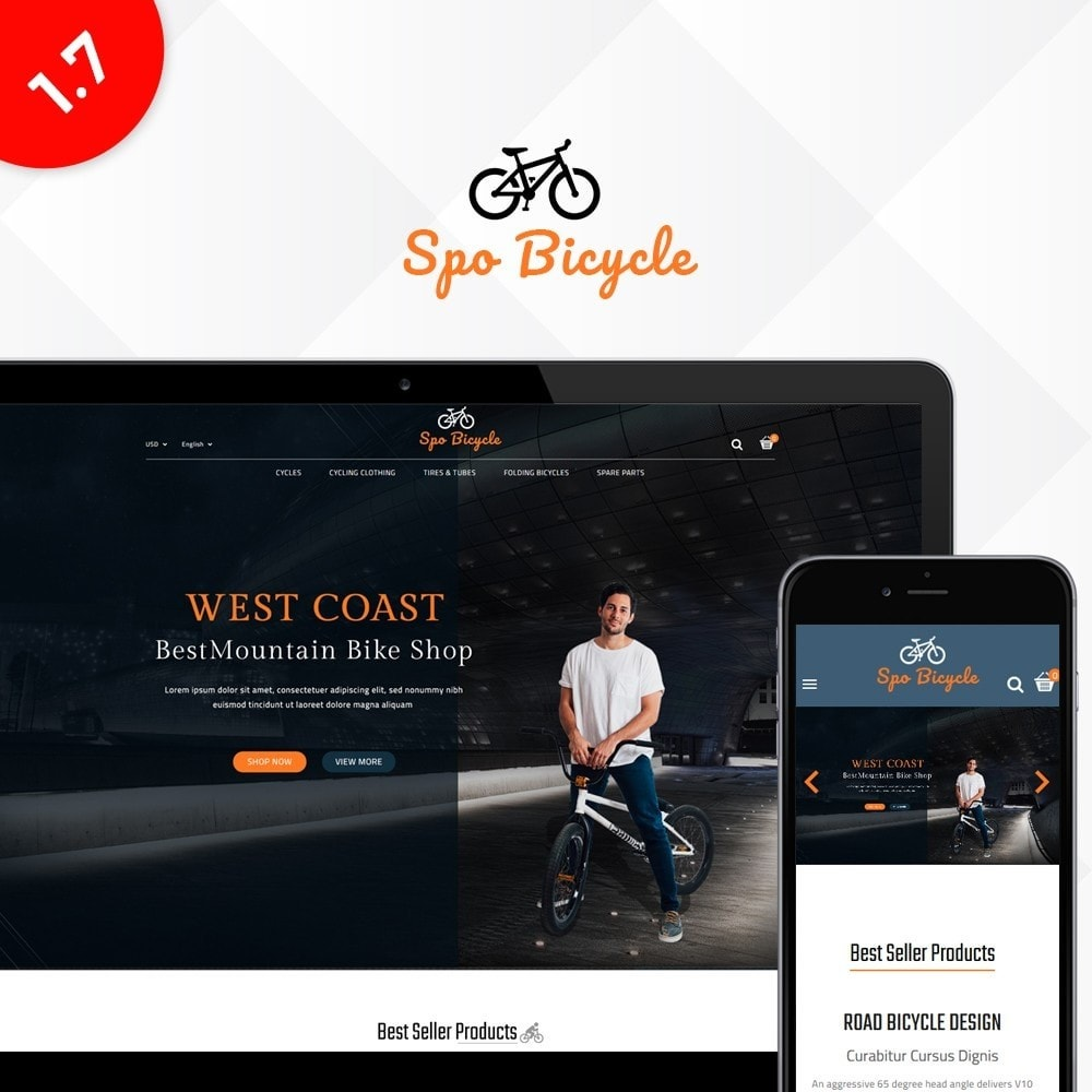 theme - Carros & Motos - Spo Bicycle Store - 1