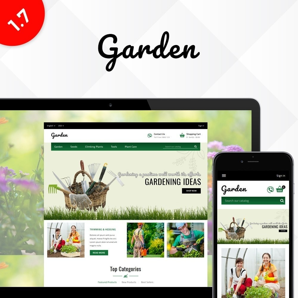 theme - Дом и сад - Garden Store - 1