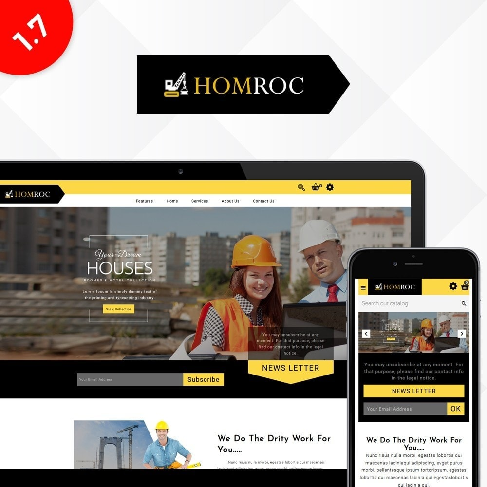 theme - Huis & Buitenleven - Homroc Construction Store - 1