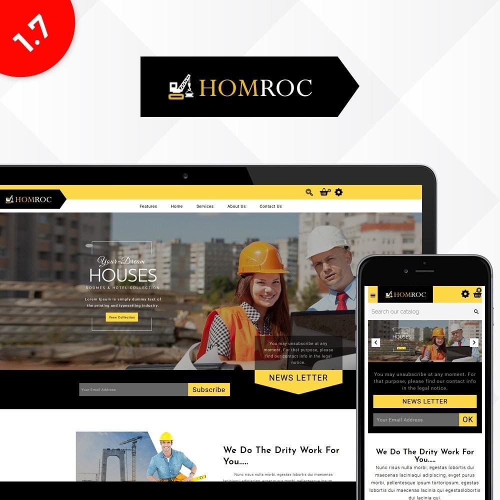 theme - Dom & Ogród - Homroc Construction Store - 1