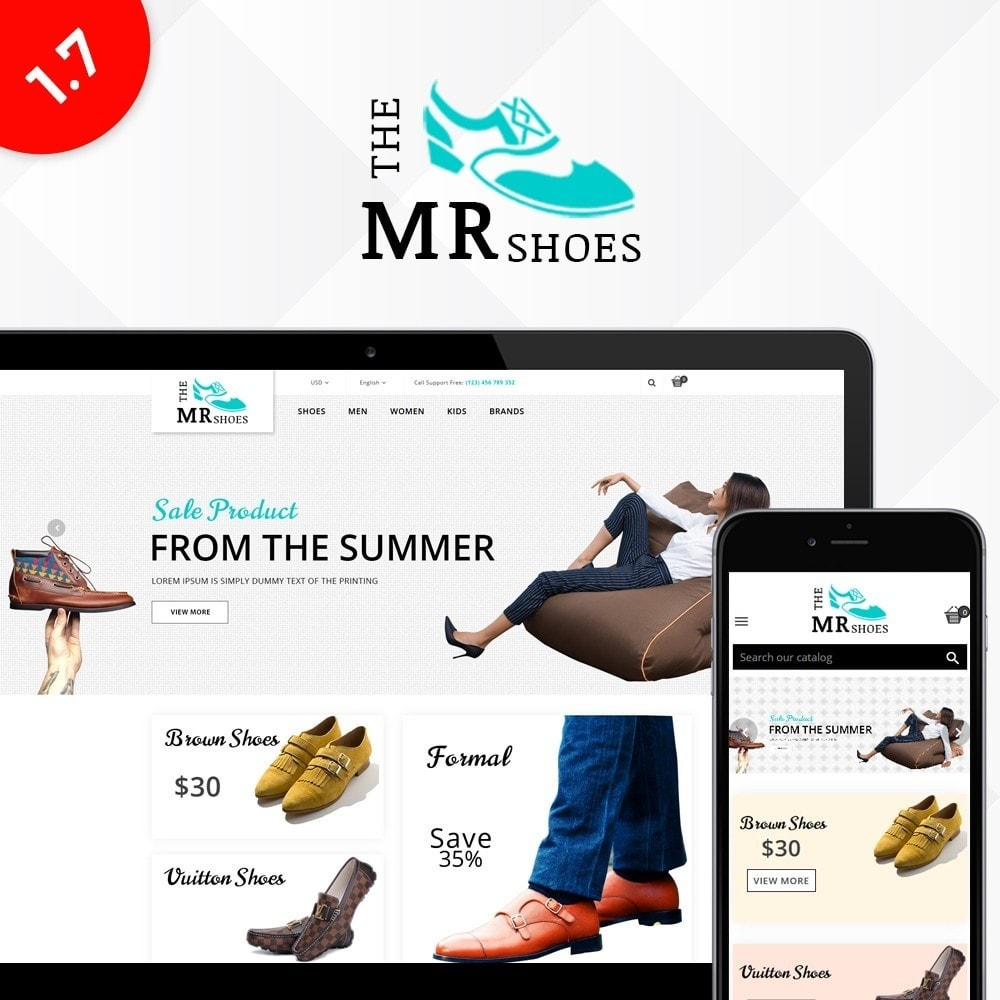 theme - Mode & Chaussures - The MR shoes store - 1