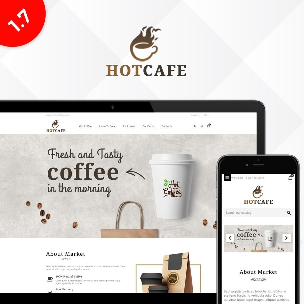 theme - Drink & Tobacco - Hotcafe coffee store - 1