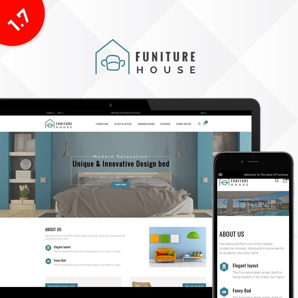 theme - Home & Garden - Furniture House Store - 1
