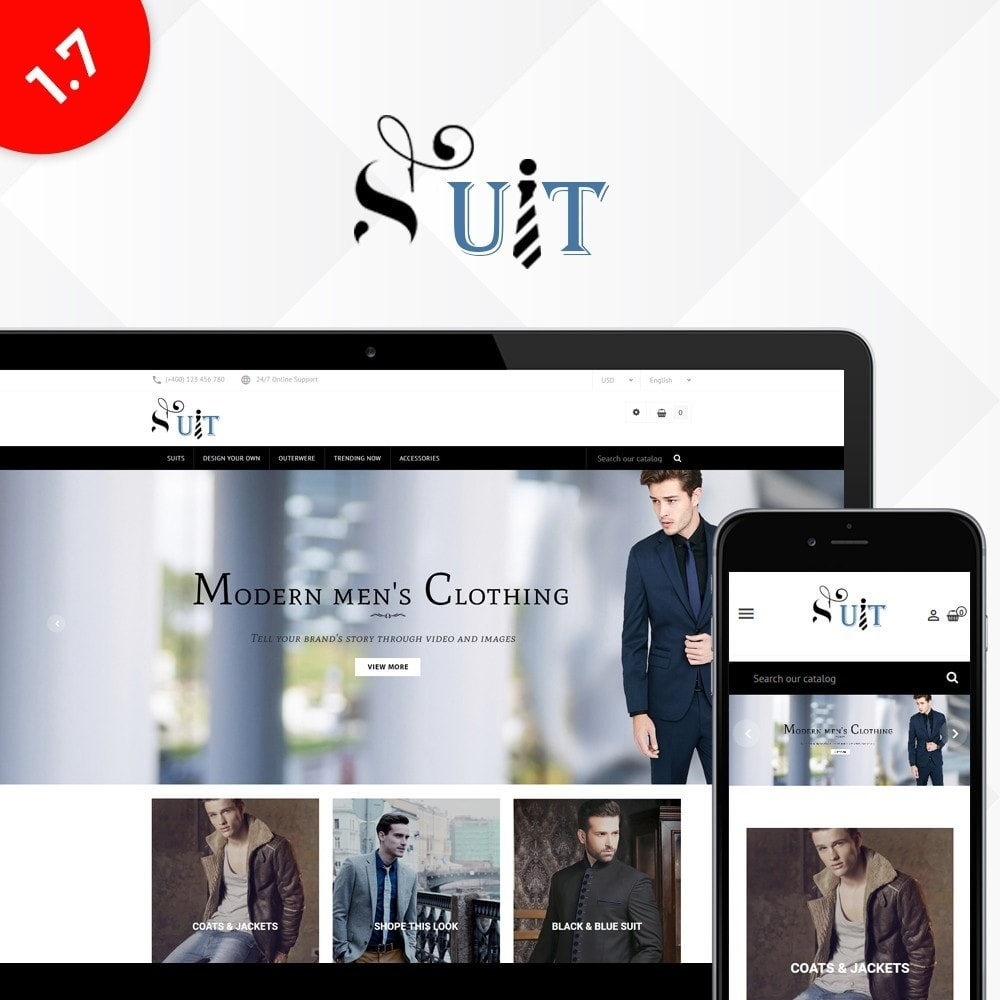 theme - Mode & Schuhe - Suit Store - 1