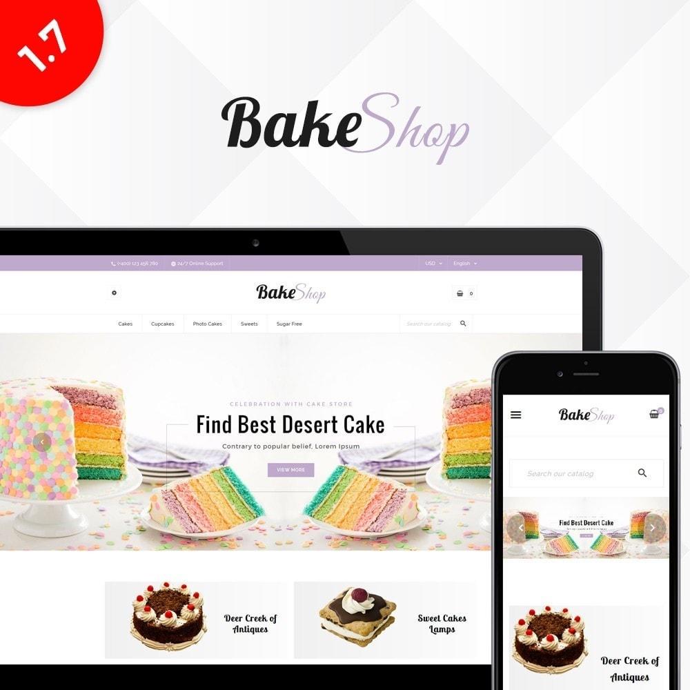 theme - Продовольствие и рестораны - Bake Shop - 1