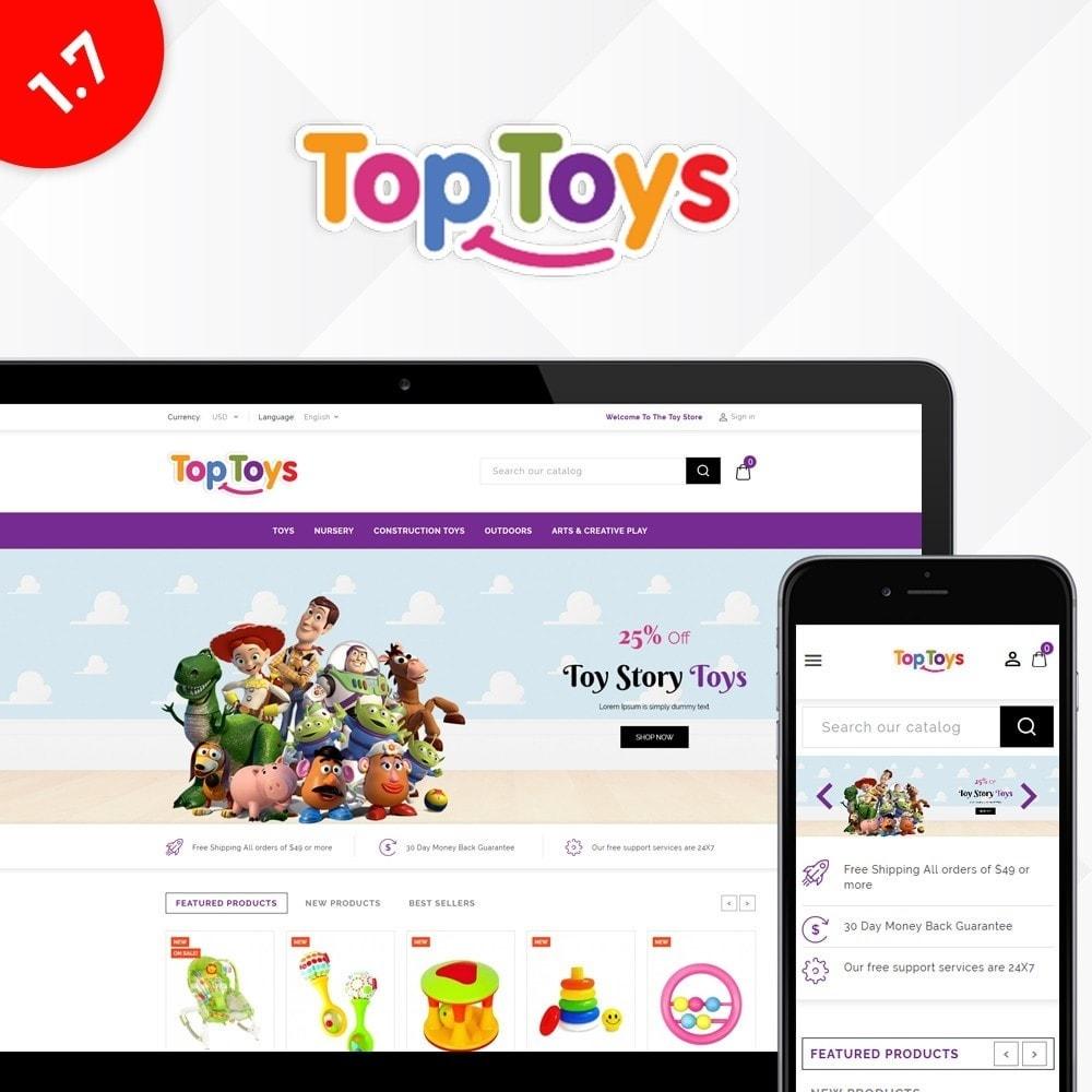 theme - Дети и Игрушки - Top Toys Store - 1