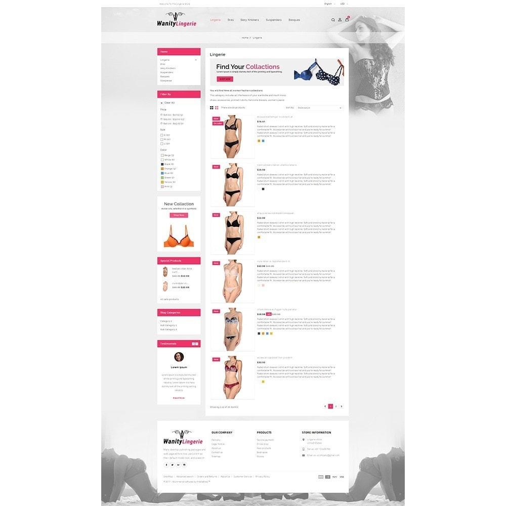 theme - Lingerie & Erwachsene - Wanity Lingerie Store - 4