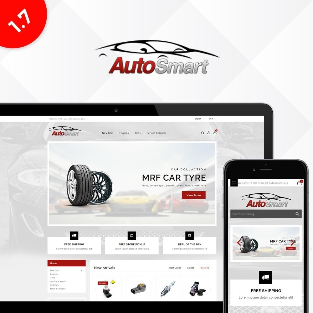 theme - Auto & Moto - Auto smart store - 1