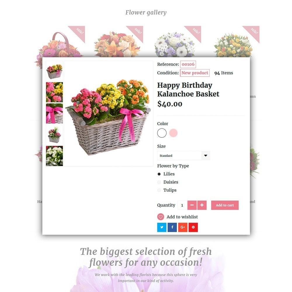 theme - Regalos, Flores y Celebraciones - Pink Flora - 4