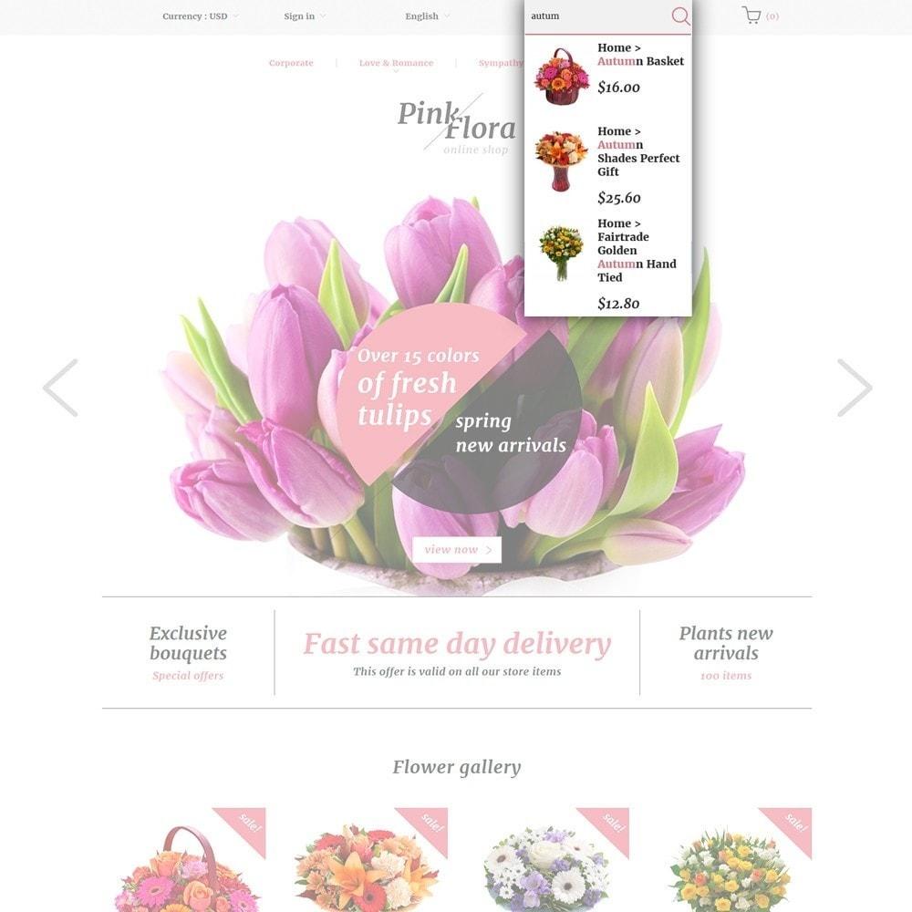 theme - Regali, Fiori & Feste - Pink Flora - 6