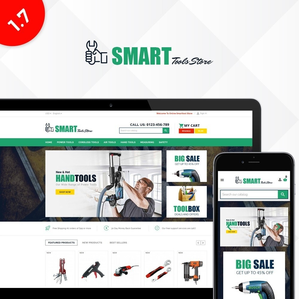 theme - Automotive & Cars - Smart Tools Store - 1